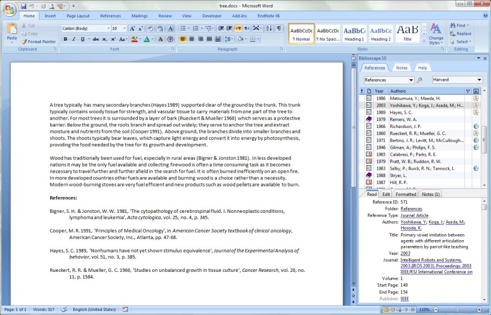 Biblioscape bibliography software for researchers to generate biblioscape bibliography software for researchers to generate citations and a bibliography in apa mla etc the best reference manager for windows ccuart Choice Image